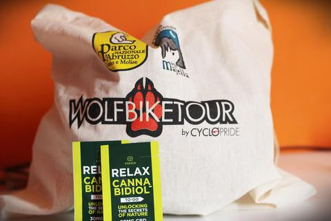 CBD One Shot at the Wolf Bike Tour