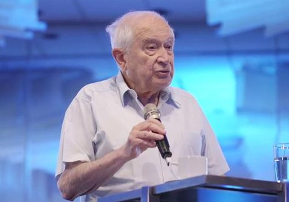 Raphael Mechoulam, the scientist, pioneer of cannabis research