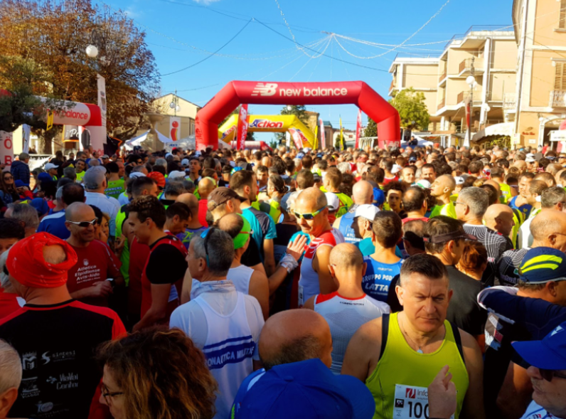 Running, partnership between Enecta and the San Martino Run