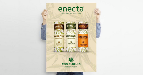 Ambrosia CBD eliquid by Enecta