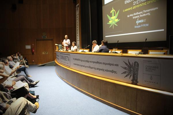 Medical Cannabis Talk at Cannabeta event in Greece promoted by enecta