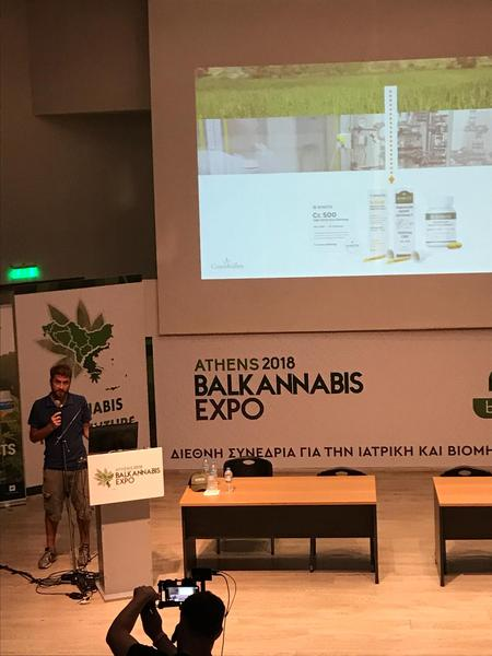 Presentation of its CBD products at the Balkannabis Expo: enecta is the first therapeutic cannabis company in Greece