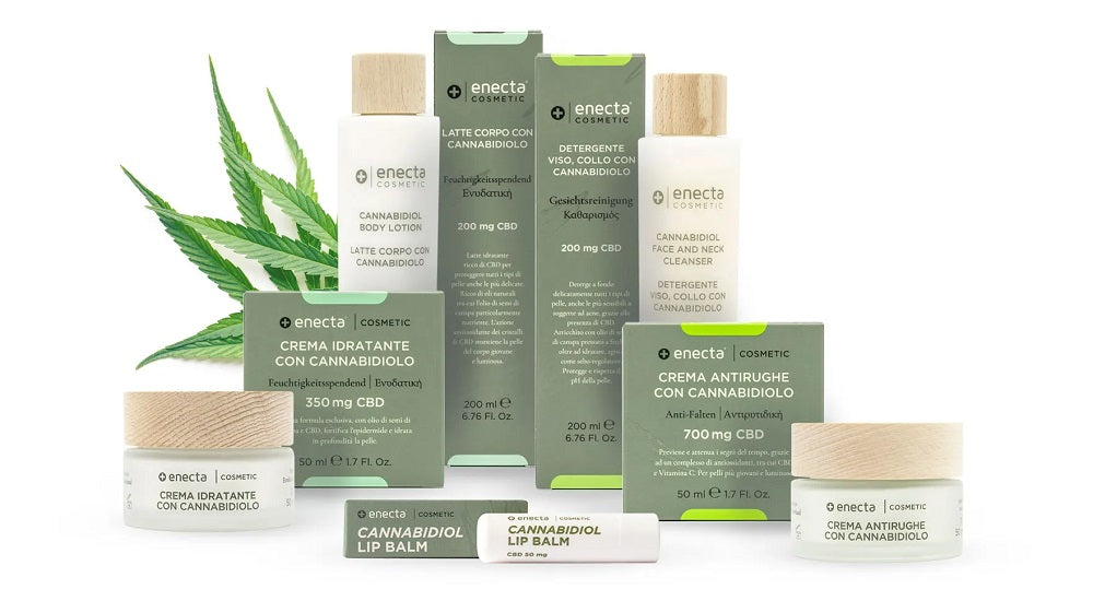 cbd cosmetic soothing skin care products