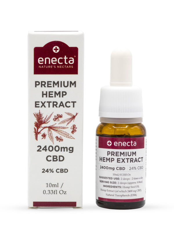 24% CBD oil (2400mg) - 10ml-Enecta.en