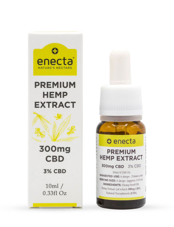 3% CBD Oil (300mg) - 10ml-Enecta.en