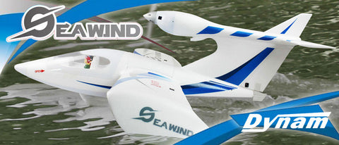 "Dynam Seawind Blue 1220mm (48"") Wingspan - PNP - DY8968-BLUE"