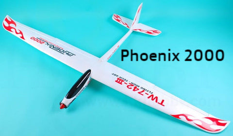 Volantex RC Phoenix 2000 Powered Glider PNP 742-3