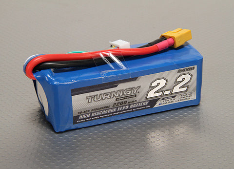 Turnigy 2200mAh 3Cell 25 to 35C rating
