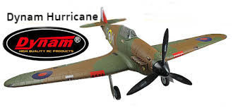 "Dynam Hawker Hurricane 1250mm (49"") Wingspan - PNP - DY8966"