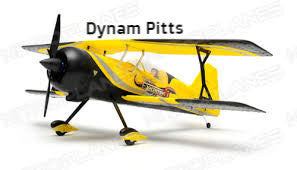 "Dynam Pitts Model 12 Yellow 1070mm (42"") Wingspan - PNP - DY8947-YELLOW"