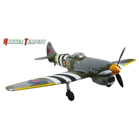 "Dynam Hawker Tempest 1250mm (49"") Wingspan - PNP - DY8959"