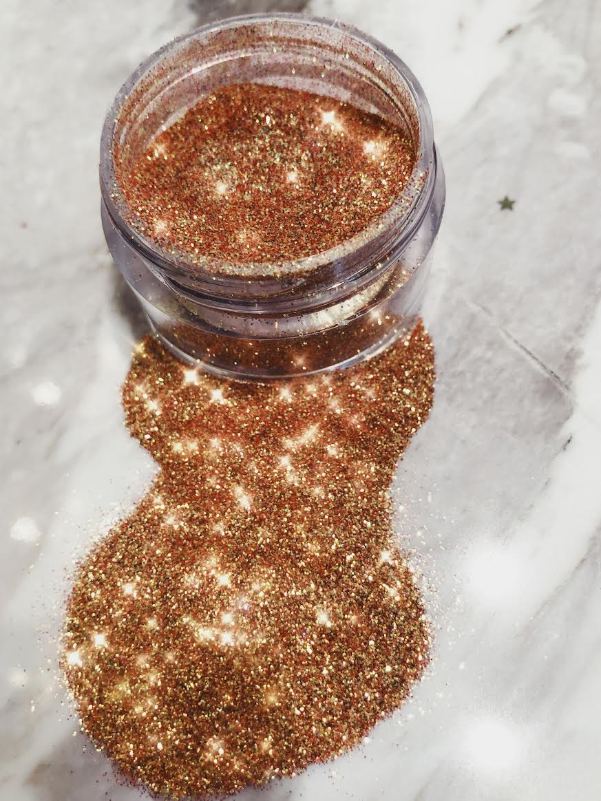 Peach Honey Glitter Beams