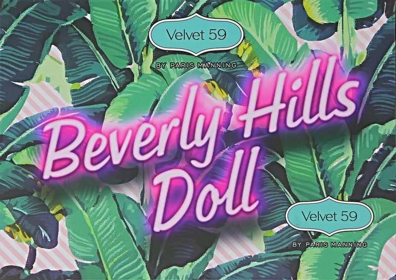 BEVERLY HILLS DOLL PRESSED PIGMENT PALETTE