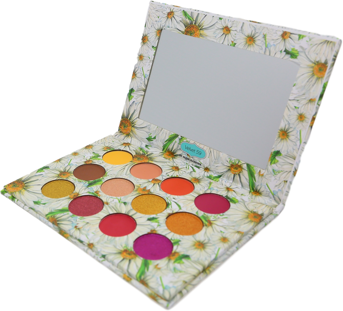 BLOOM BABY EYESHADOW PALETTE AND PRETTY PEACH LIQUID LIPSTICK GIFT BAG SET