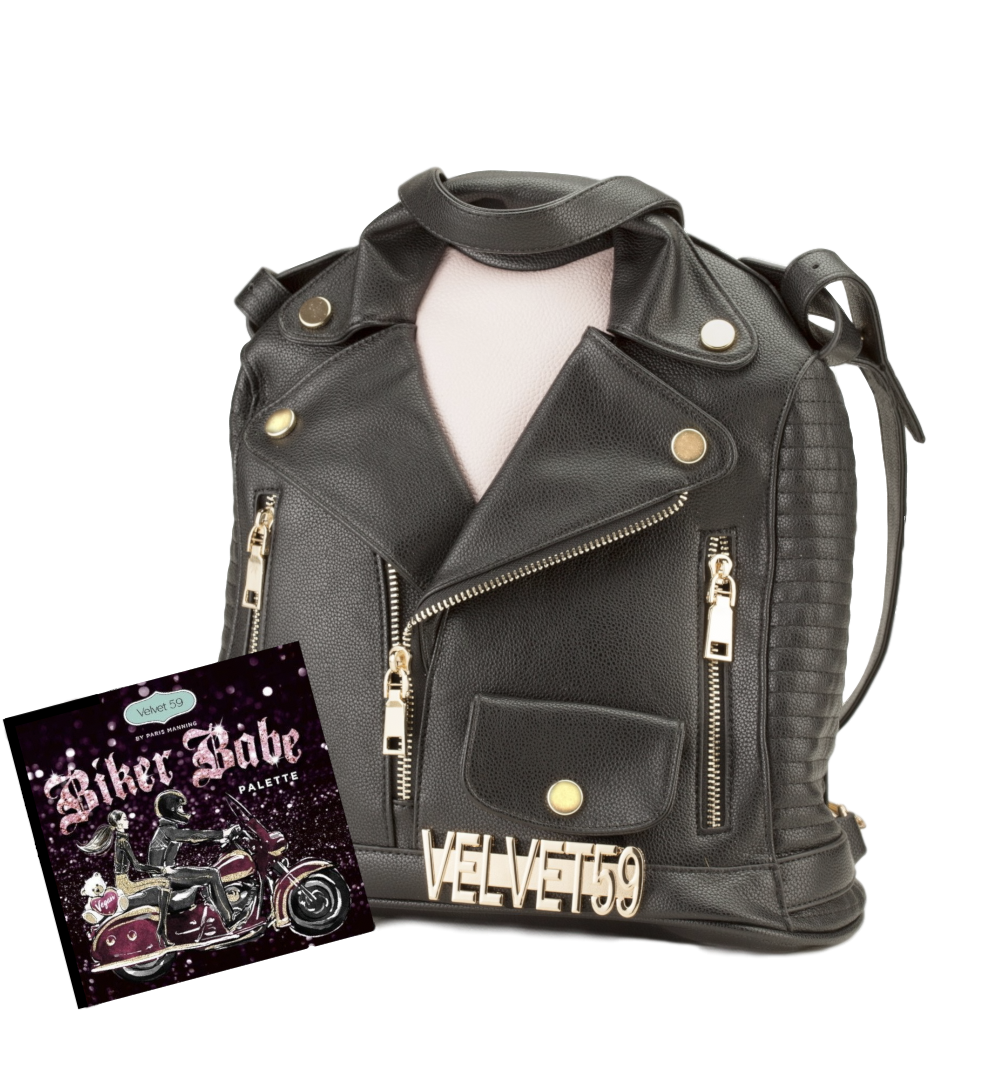 Biker Babe Eyeshadow Palette and Backpack
