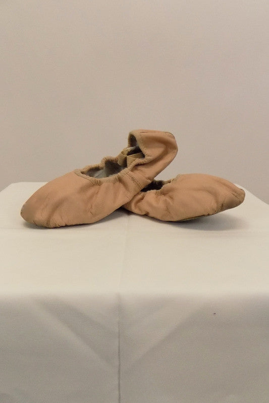 Ballet Shoe Bloch Pink Leather Size 2.5C