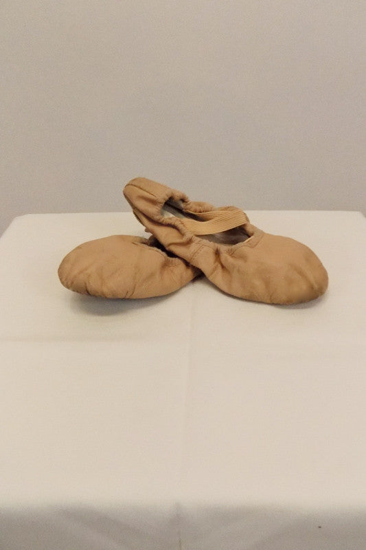Ballet Shoe Bloch Pink Leather Size 1.5D
