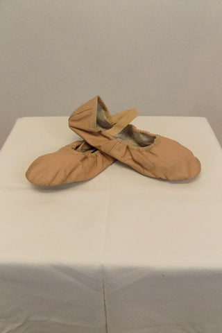 Ballet Shoe Bloch Pink Leather Size 3A