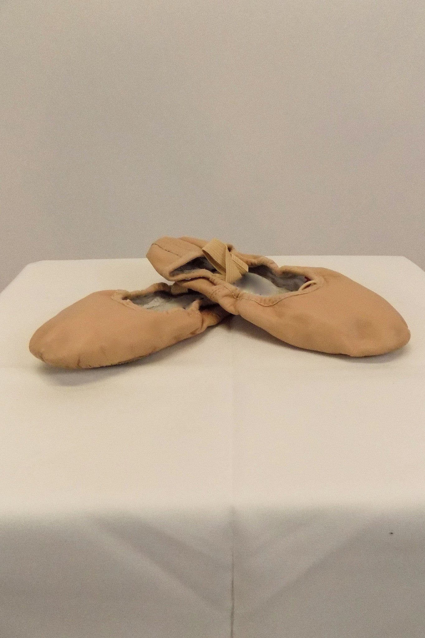 Ballet Shoe Bloch Pink Leather Size 4.5B