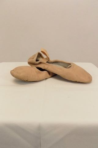 Ballet Shoe Bloch Pink Leather Size 4B