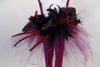 Back of feathered bustle zoomed