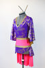 jazz costume, for sale purple side