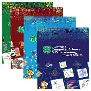 Discovering Computer Science & Programming Through Scratch: Set of 4