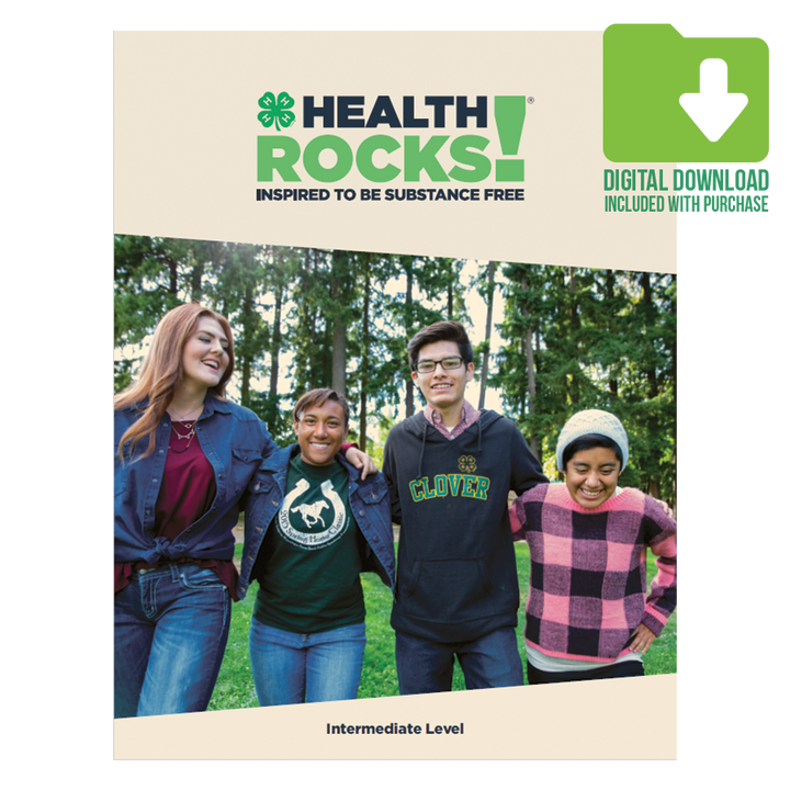 Health Rocks!: Intermediate Level - 2019 Edition PLUS Digital Download