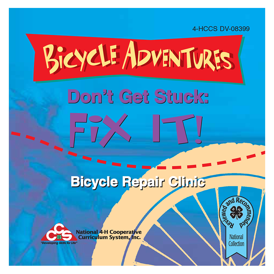 Bicycle Adventures: Don't Get Stuck: Fix It DVD