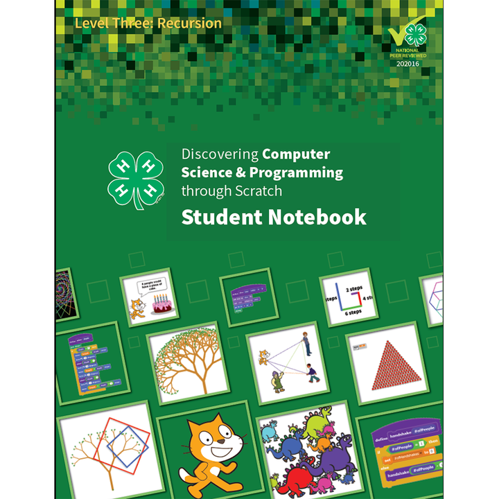 Discovering Computer Science & Programming through Scratch Level 3: Student Notebook