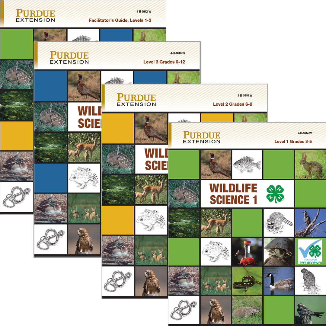 Wildlife Science Set of 4 Digital Download