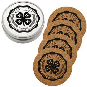 Set of 4 Cork Coasters