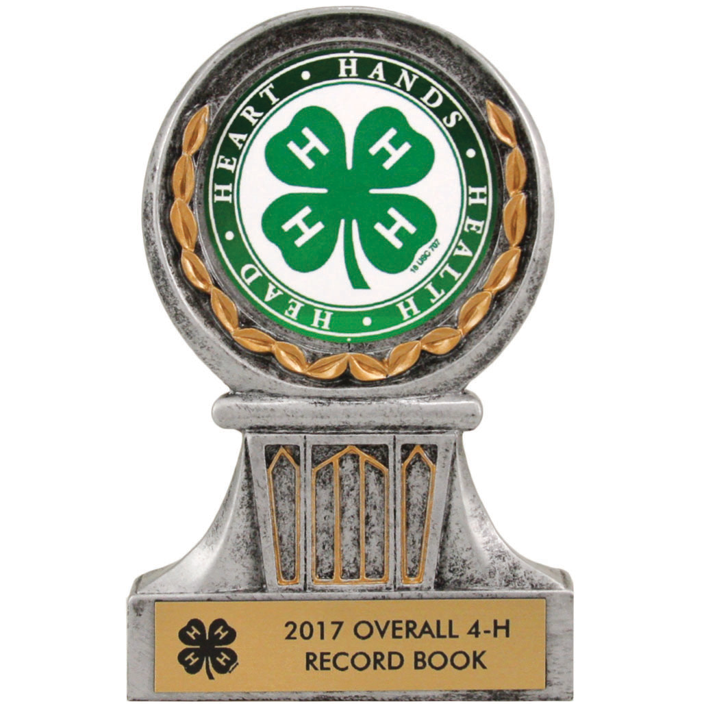 "4 1/2"" Wreath Trophy with Insert Choice"