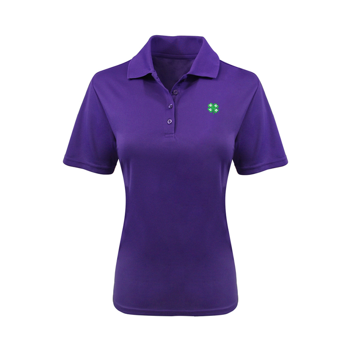 4-H Women's Purple Dry Fit Tee