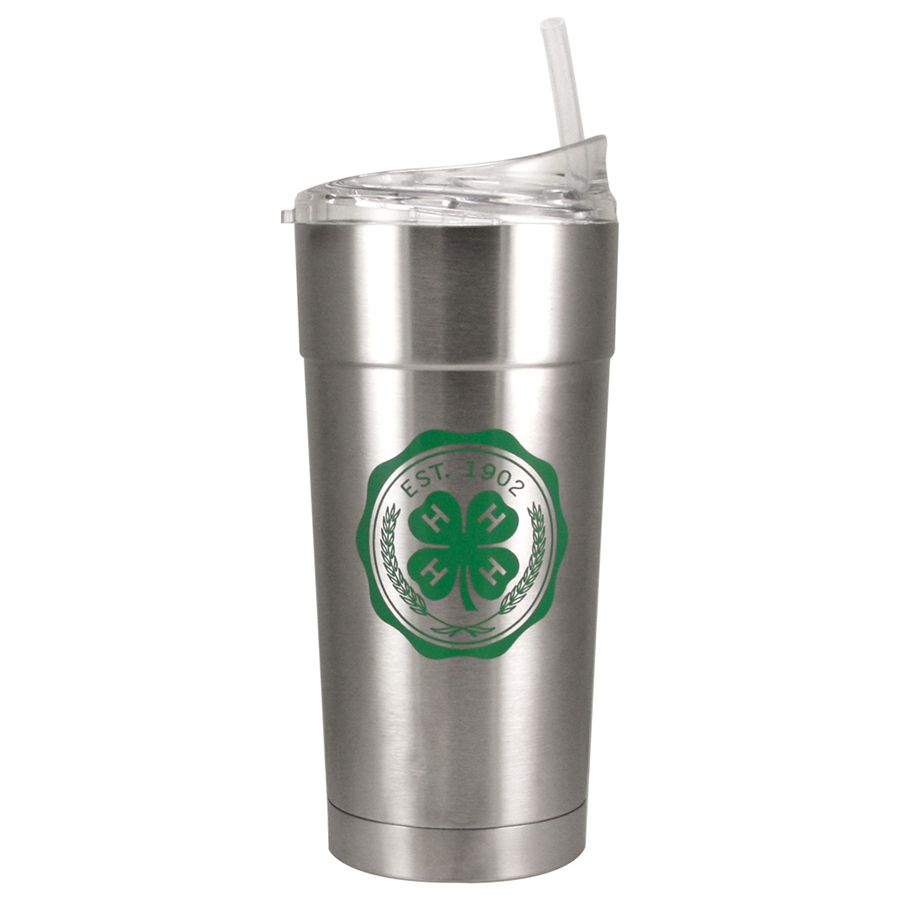4-H Stainless Steel Tumbler