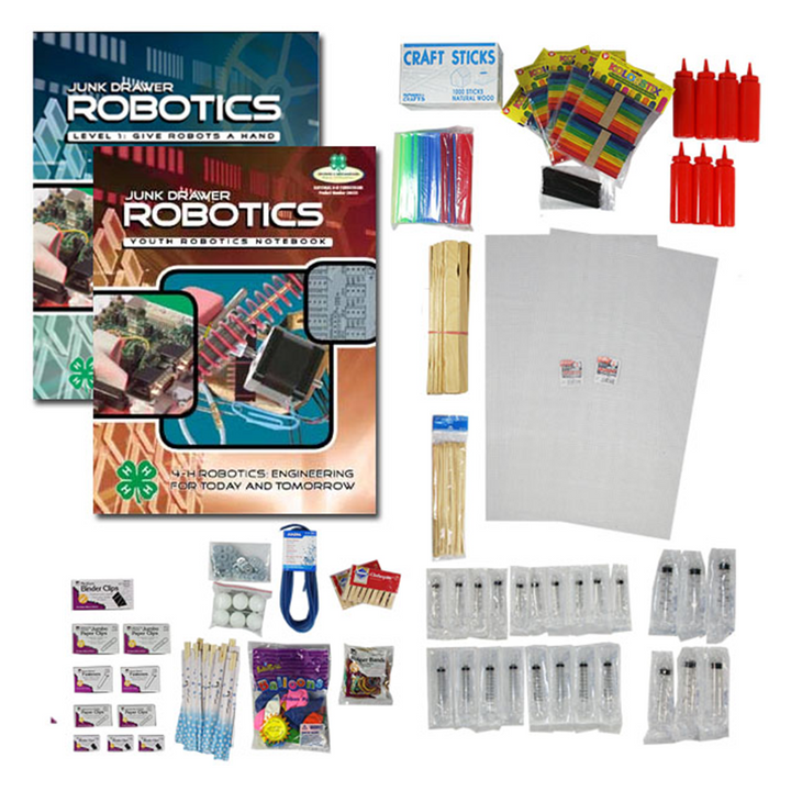 Junk Drawer Robotics Level: Materials Kit & Curriculum