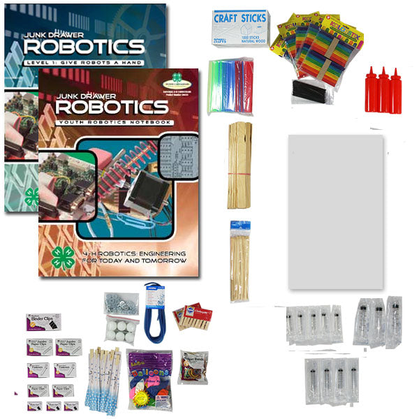 Junk Drawer Robotics Level 1: Materials Kit & Books - Small