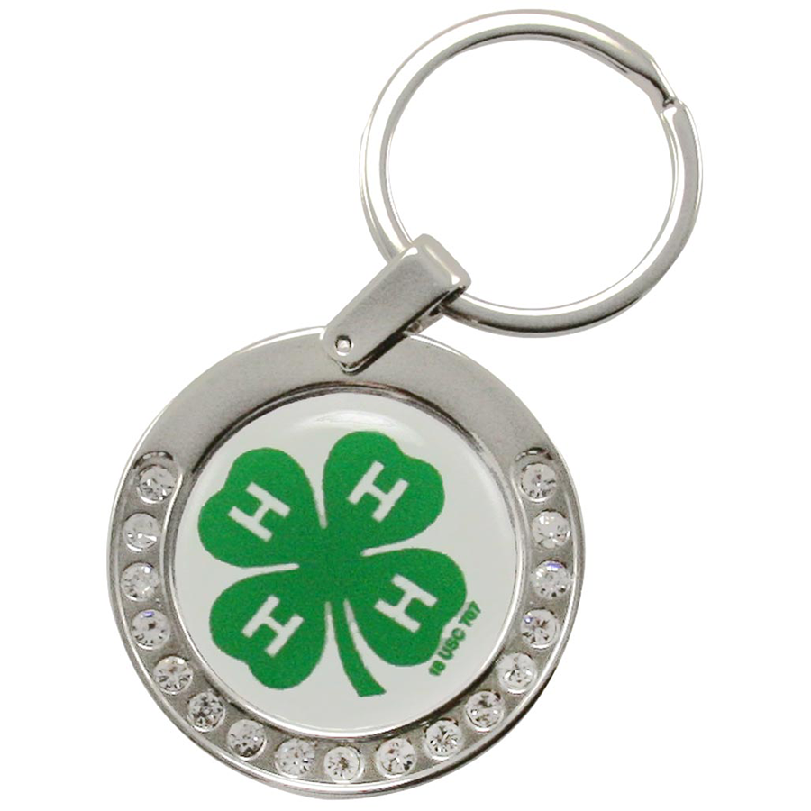 4-H Bling Keychain