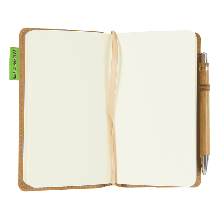 Eco Journal with Bamboo Pen