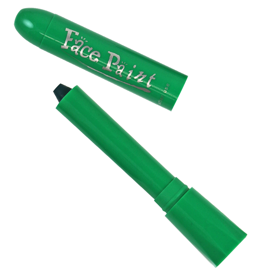 Green Face Paint Stick