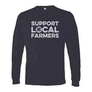 Support Farmers Long Sleeve Tee