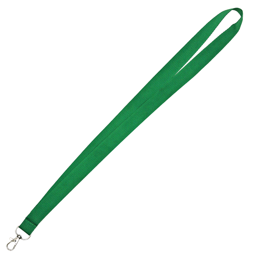 Green Lanyard With Lobster Hook