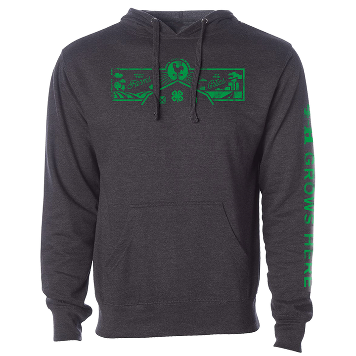 Charcoal Farms to Cities Hoodie