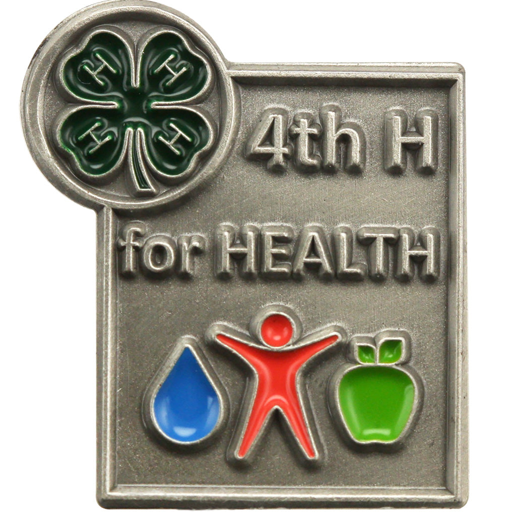 4th H for Health Pin
