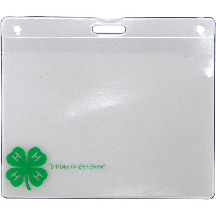 Clover ID/Badge Holder