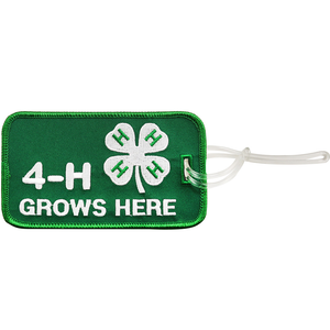4-H Grows Here Luggage Tag