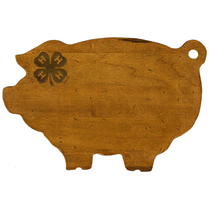 Swine and Clover Cutting Board