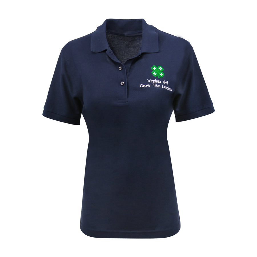 Custom Women's Navy Polo - Minimum Order of 6