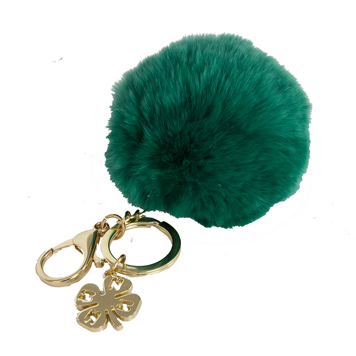 Charmed Pom Pom Key Chain