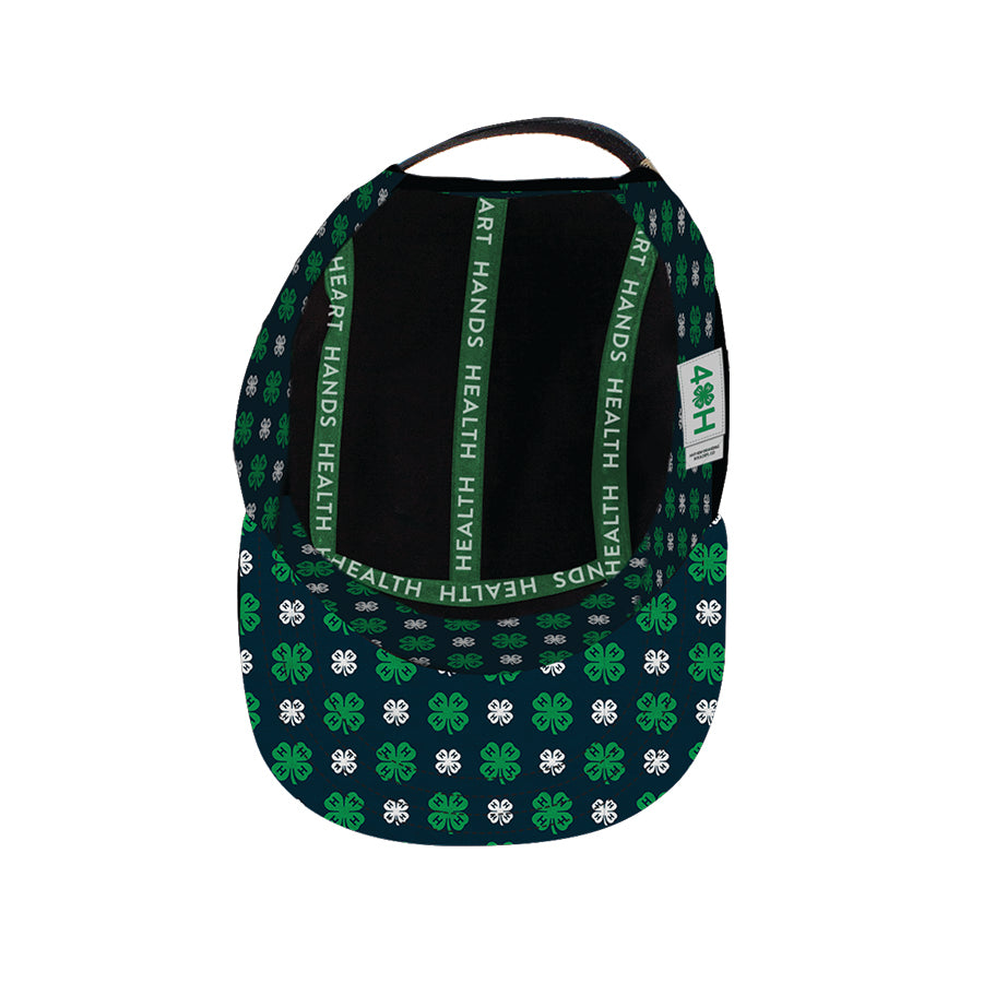 Patterned Clover Camper Hat